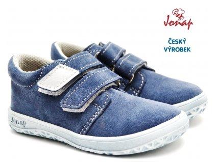 Dětské barefoot boty JONAP B1sv modrá