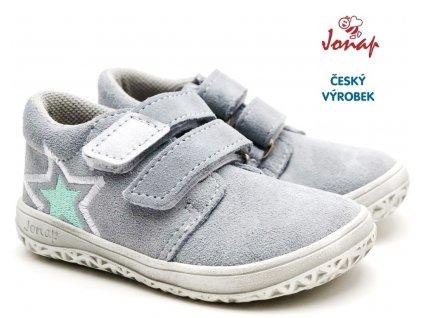 Dětské barefoot boty JONAP B1sv šedá