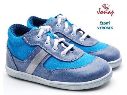 Dětské boty JONAP 727251-051m modrá tyrkys
