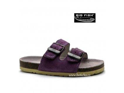 Pantofle BIG FISH FO-213-11-01 fialové
