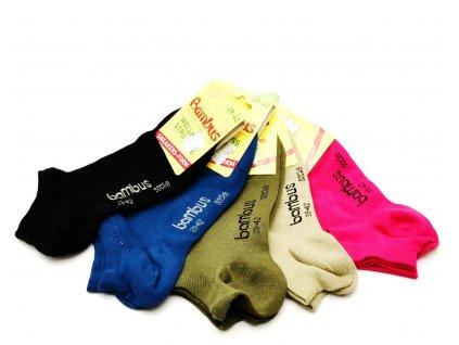 Bambusové ponožky Socks4fun 2167 nízké