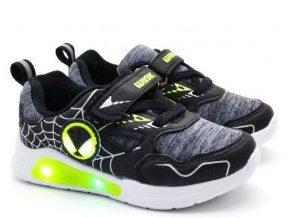 Blikající boty WINK FE11396-12 černé