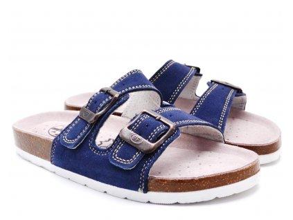Pantofle BF BY2131799 modré