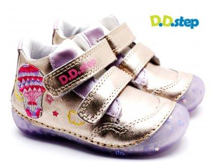 Dětské boty DDStep 015-350B champagne