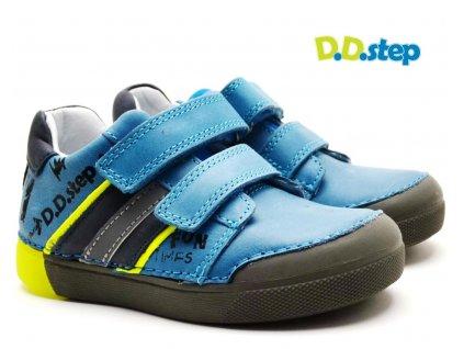 Blikající boty DDStep 068-52 modrá
