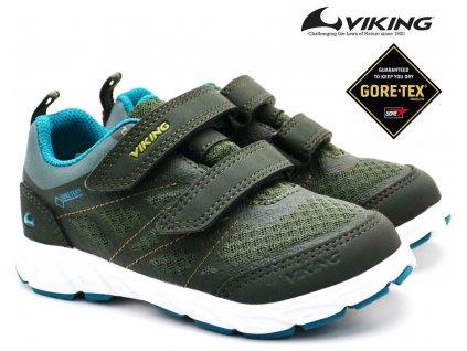 Dětské boty VIKING 3-47300 green