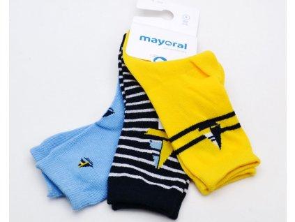 Dětské ponožky MAYORAL 10.053 044 3balení