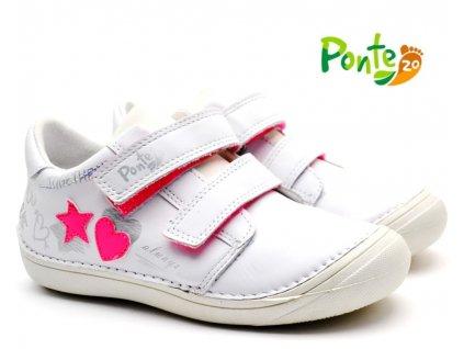 Dětské boty PONTE PP221-DA03-705A bílé