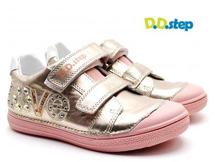 Dětské boty DDStep 049-995 champagne