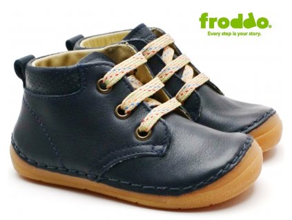 Dětské boty FRODDO G2130219 Dark Blue