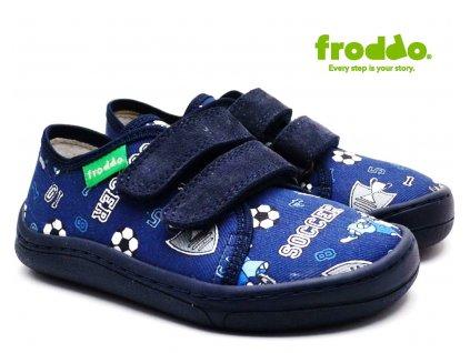 Textilní barefoot FRODDO G1700283-6 blue