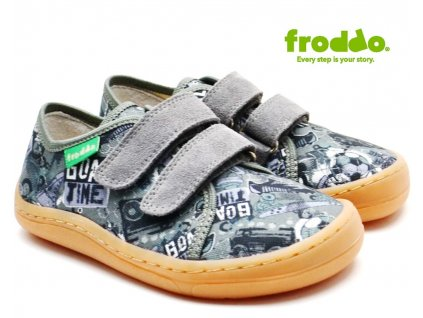 Textilní barefoot FRODDO G1700283-7 grey
