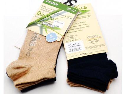 Bambusové ponožky Sockswear dvojbalení