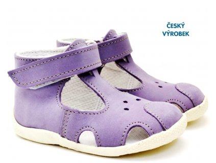 Letní capáčky VELETA 026 fialové
