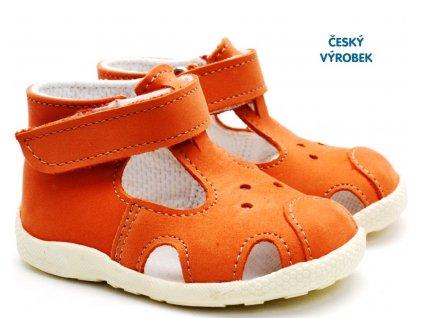 Letní capáčky VELETA 026 oranžové
