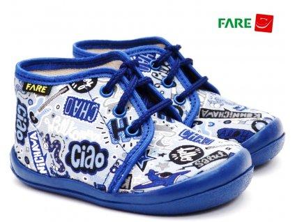 Dětské papuče šněrovací FARE 4011408
