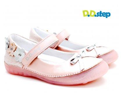 Dívčí balerínky DDStep 046-228 růžová