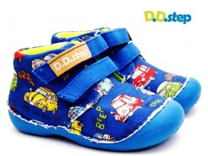 Dětské boty DDstep C015-976 modrá