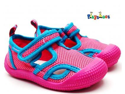Sandále do vody Playshoes 174710 pink