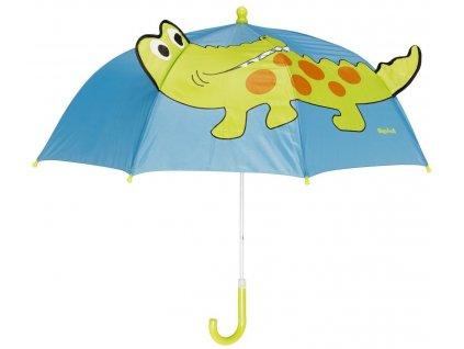 Dětský deštník Playshoes 448596 Krokodýl