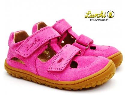 Barefoot sandále LURCHI 33-50002-23 fuxia