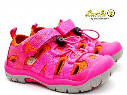 Trekové sandále LURCHI 33-21617-33 pink