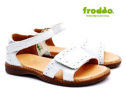 Dívčí sandále FRODDO G3150176-4 bílé