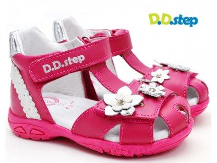 Dětské sandále DDstep AC290-384 BLIKAJÍ