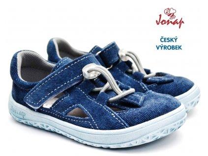 Barefoot sandále JONAP B9s riflová