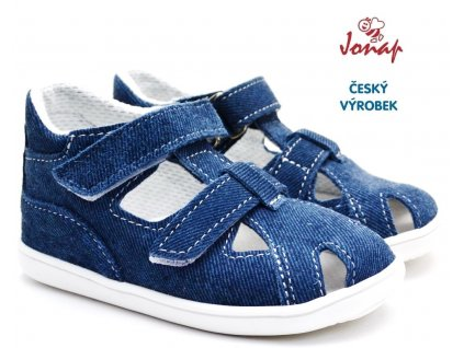 Dětské sandály JONAP 727251-041s riflová