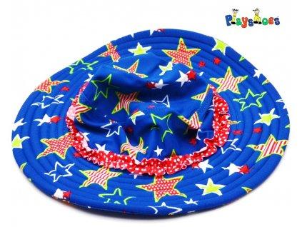 Dětský klobouček Playshoes 460287 hvězdy