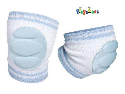Chrániče kolen Play shoes sv. modré