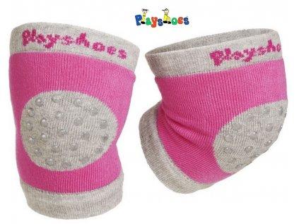 Chrániče na kolena Playshoes 498804 růžové