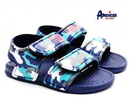 Dětské sandály do vody American Club modré