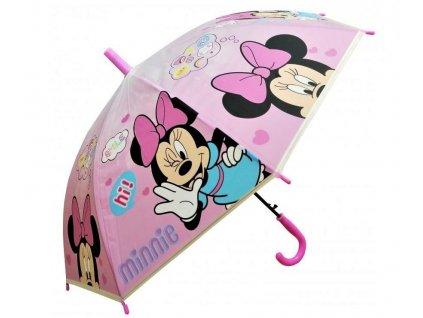 Deštník dětský Minnie em 6434 růžový