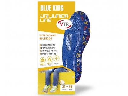 VTR Vložky do bot BLUE KIDS UNI dětské ostřihávací