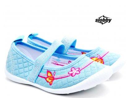Dívčí tenisky SLOBBY 131-0060-T1 sv. modré