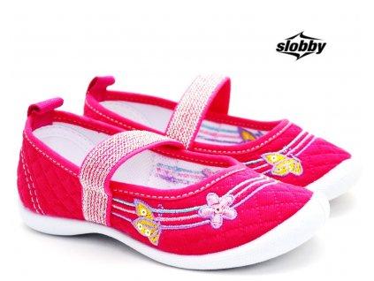 Dívčí tenisky SLOBBY 131-0060-T1 růžové