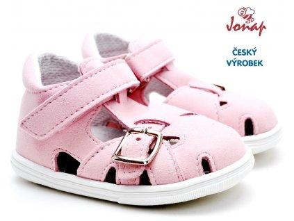 Dětské sandále JONAP 727250-009mf růžové