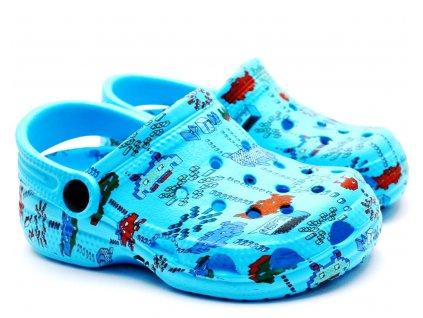 CLOG Sandále SLOBBY 192-0017 sv. modré
