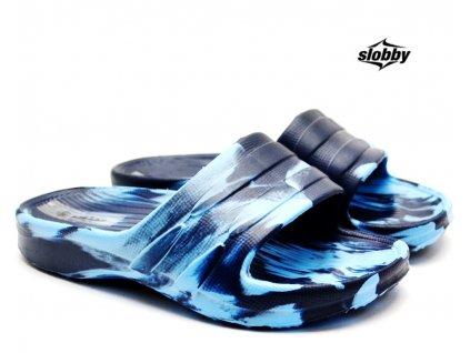Dětské pantofle SLOBBY 182-000 modré