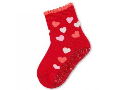 Protiskluzové ponožky STERNTALER 8032110 rot