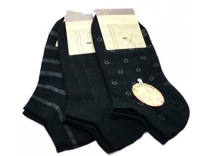 Bambusové ponožky BAMBUS SOXX černé