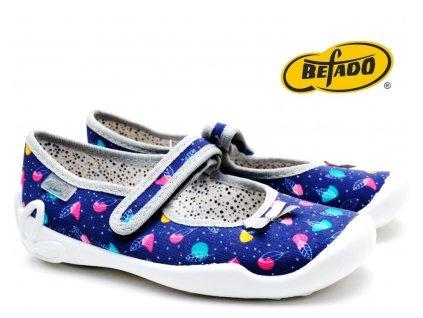 Dívčí bačkory BEFADO Blanka 114Y429