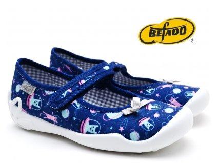 Dívčí bačkory BEFADO Blanka 114X410
