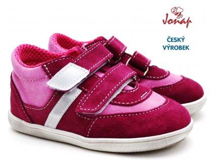 Dětské boty JONAP 051 Sv vínovorůžová