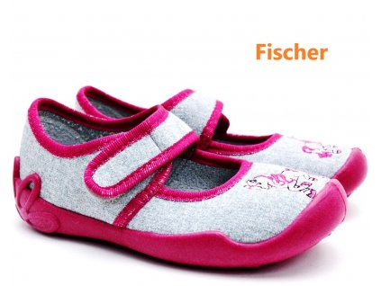 Dívčí bačkory FISCHER 612043 kůň