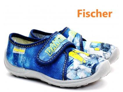 Dětské bačkory FISCHER 612336 bagr