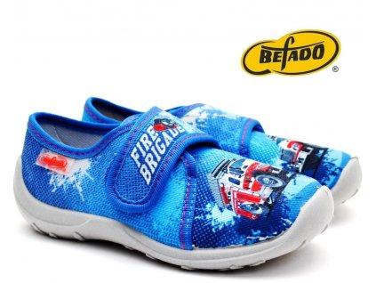 Dětské bačkory BEFADO 560X150 Hasiči