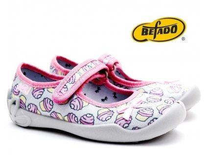 Dívčí bačkory BEFADO 114X390
